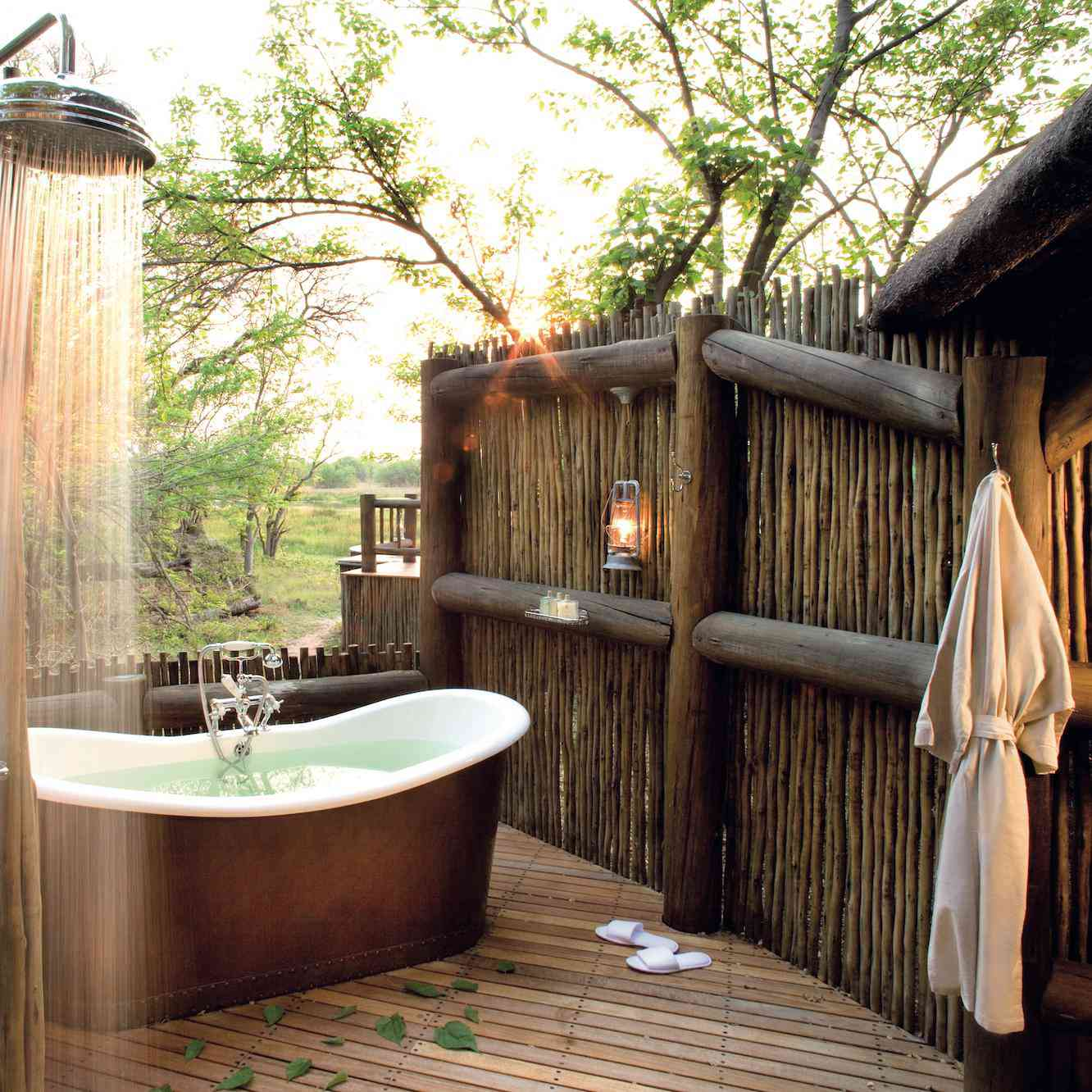 The Sexiest Outdoor Bathtubs For Some Good Clean Fun