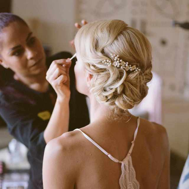 how to book hair and makeup artists for your destination wedding