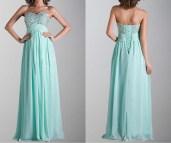 Long Empire Waist Prom Dress