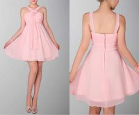 Exquisite Halter Neck Short Bridesmaid Dress  Budget ...