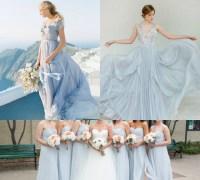 light blue gray bridesmaid dresses  Budget Bridesmaid UK ...