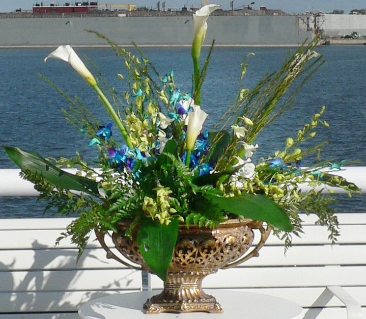 Large Ceremony Arrangement