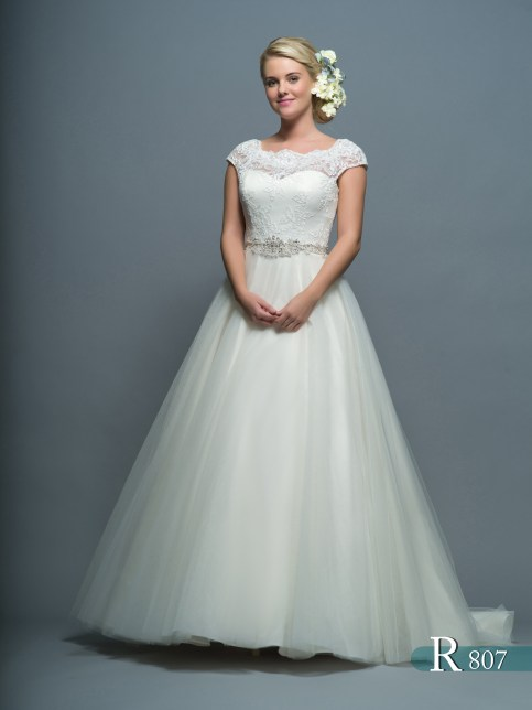 White Rose Wedding Dress 828 : Brides of york private collection