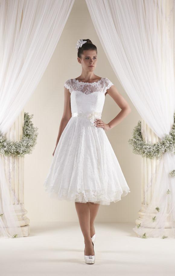 Hitch Up Your Hemline Choosing A Short Wedding Dress