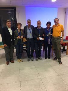 I rappresentanti dell'ASD Bridge Cusano Milanino ai Regionali Allievi 2017 (Lombardia): Ronchi, Crivelli, Di Dio, Tantillo, Motta, Camboni