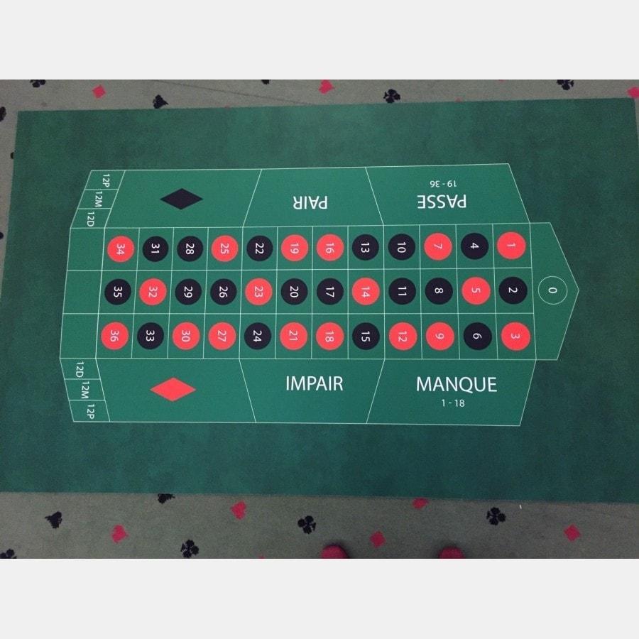 tapis de roulette neoprene 130x80 cm
