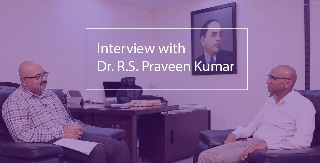 Bridge Institute interview with 2017 Kalinga Fellow, Dr. R.S. Praveen Kumar