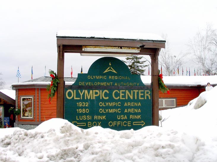 Map Lake Placid Olympic Venues