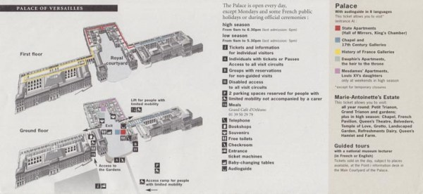 Images and Places Pictures and Info versailles palace map