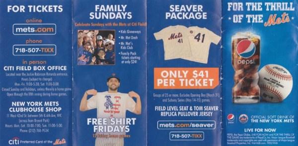 New York Mets vs Philadelphia Phillies Section 132 Citi