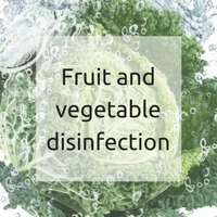 Fruit and vegetable disinfection