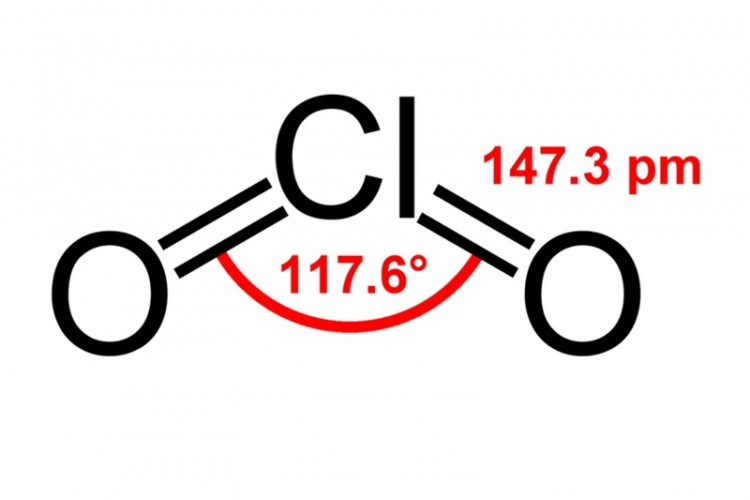 Chlorine Dioxide (ClO2); advantages disadvantages