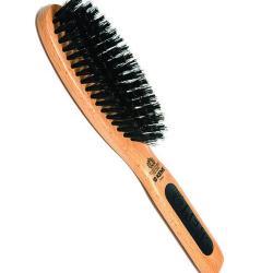 Kent Natural Shine Brush, Oval Head, Pure Bristle