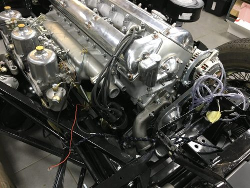 small resolution of jaguar e type wiring loom