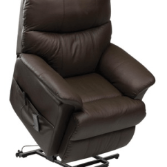 Recliner Chair Hire Rocking Springs Uk Lars Leather Single Motor | Bridgend Mobility Centre