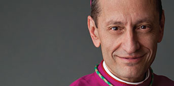 Bishop Caggiano | Queen of Clergy Residence