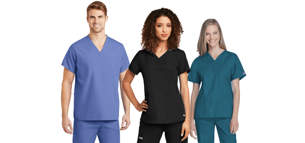 Printed Medical Practice Scrub