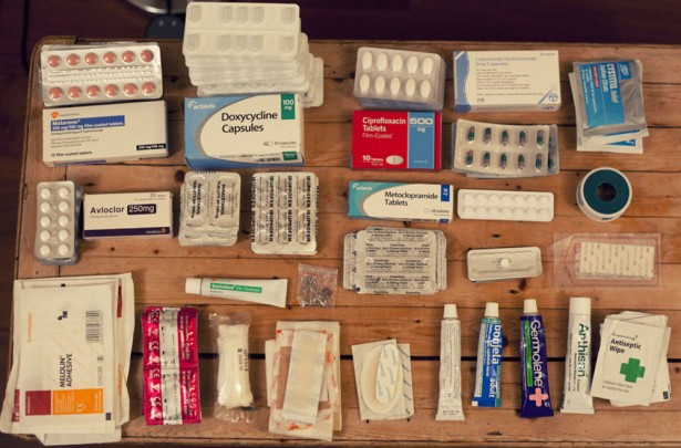Items for medical kit