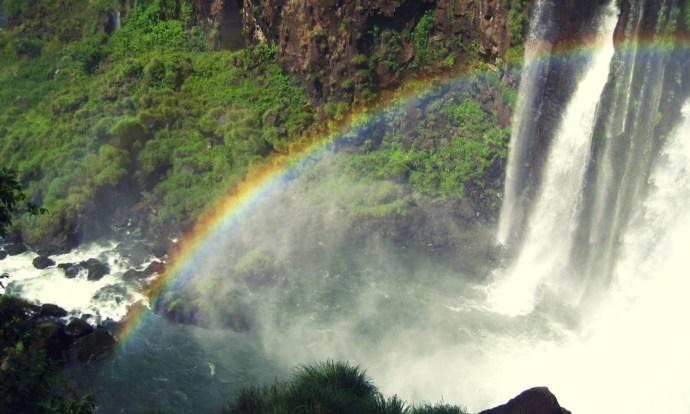 Rainbows at Iguazu