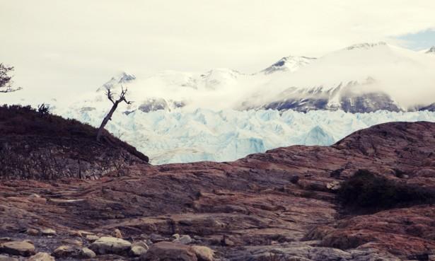 Glacial landscape, Perito Moreno