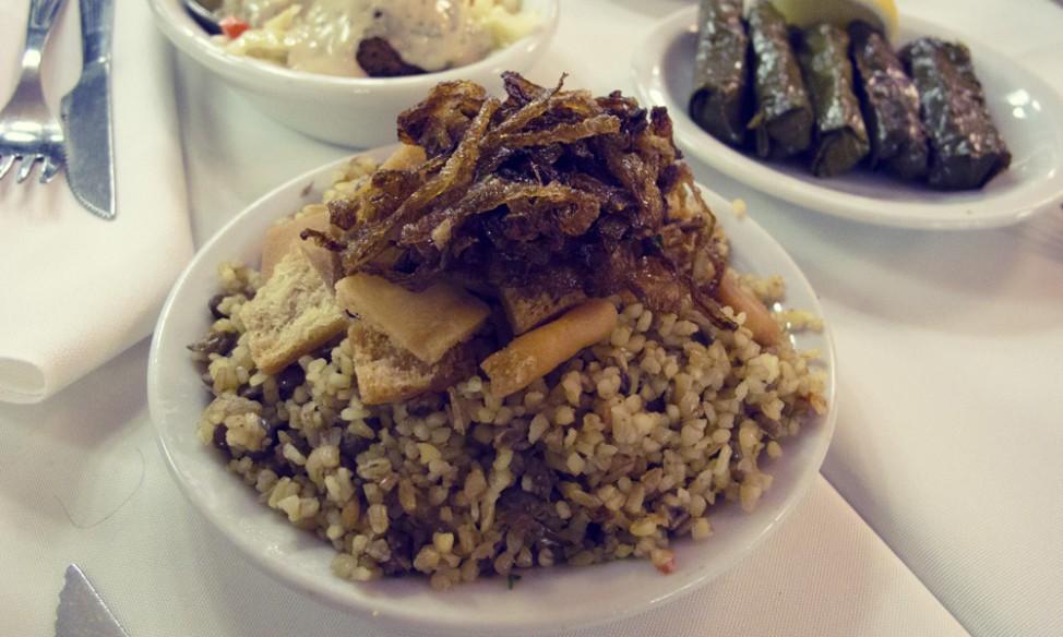 Best vegetarian restaurants in Buenos Aires |Sarkis rice