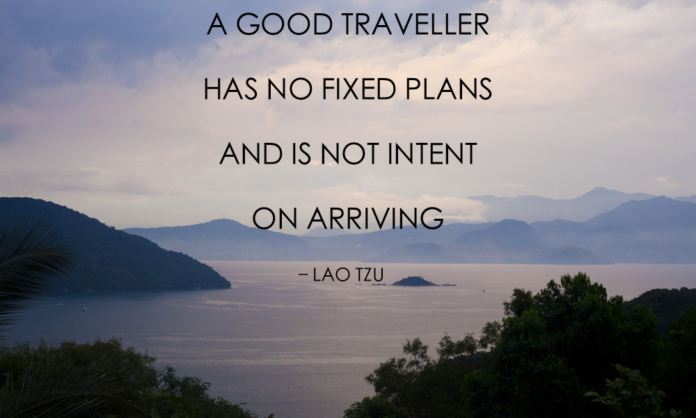 Why this is no longer a quest: inspiring travel quotes