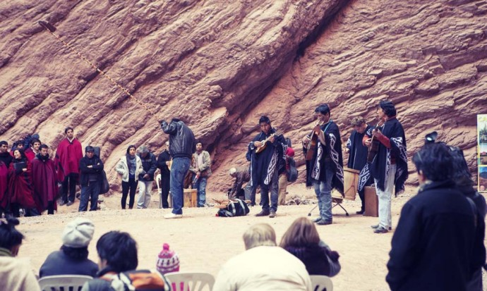 Concert in the mountain, Quebrada de Cafayate