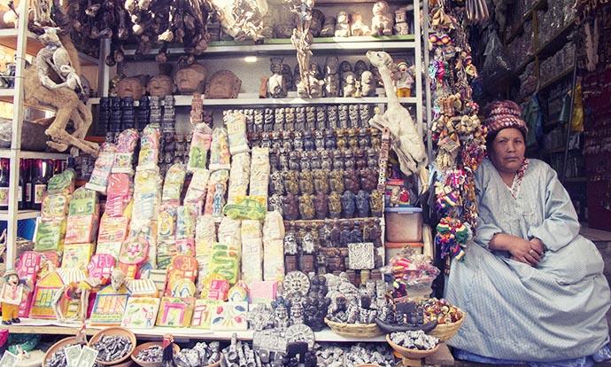 Witch in La Paz