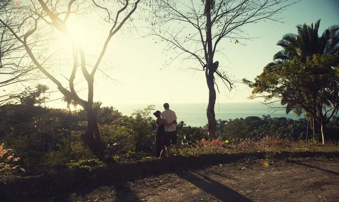 Steve and I at Selva Azul, San pancho