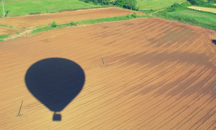 Balloon shadow