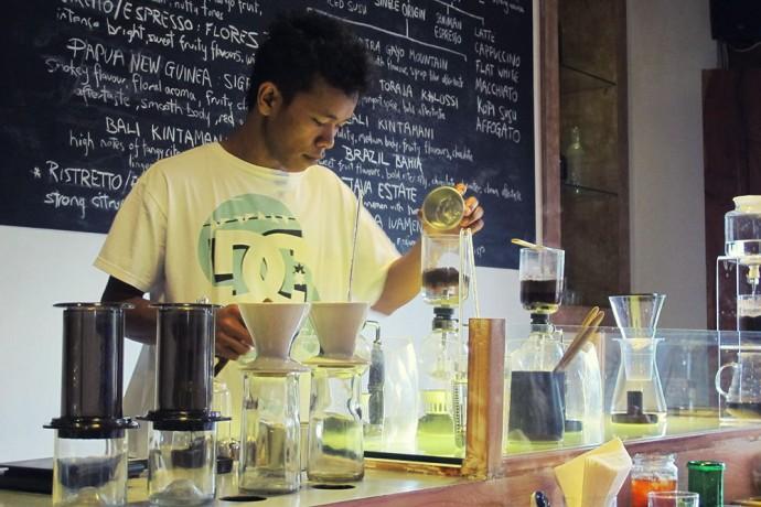 Seniman coffee shop Ubud