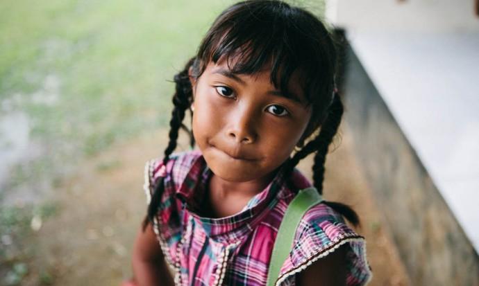 Balinese girl at Freedom School