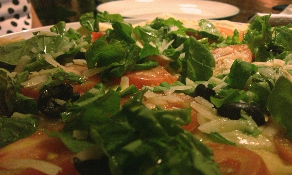 Mamma Mia - best vegetarian pizza in Ubud