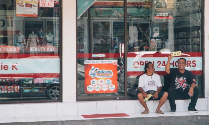 Taxi man Ubud