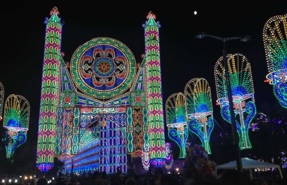 Notte delle Luci festival Italy