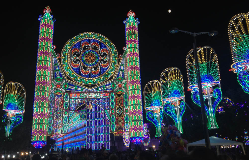 Notte delle Luci festival Italy