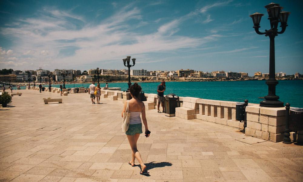 Otranto seafront
