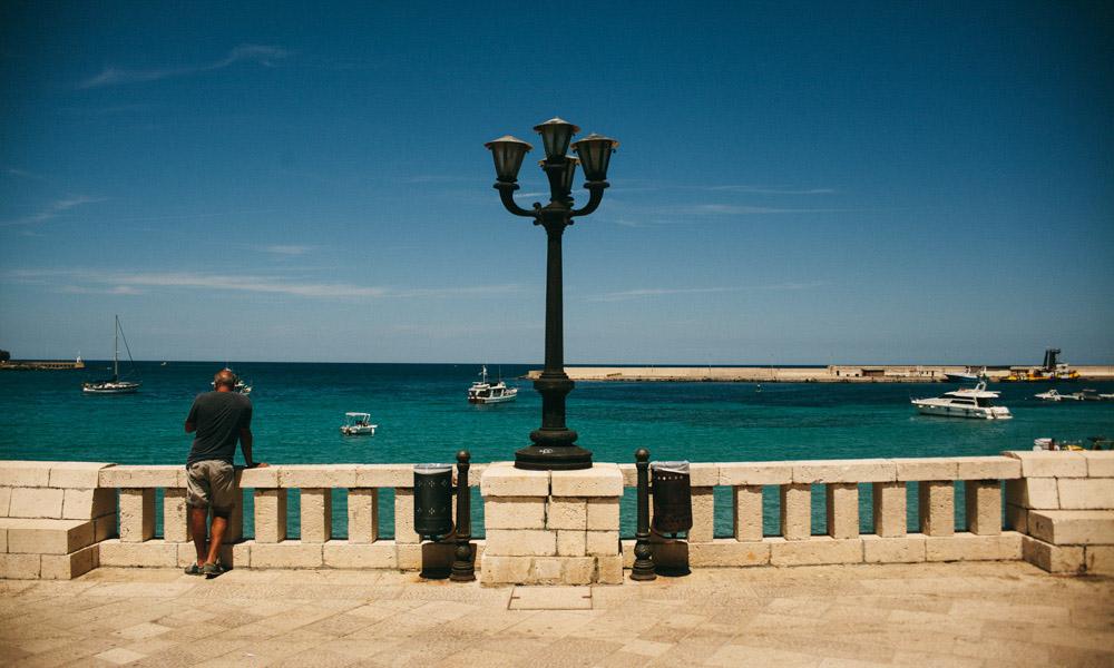 Otranto boulevard is a gorgeous sight in Puglia