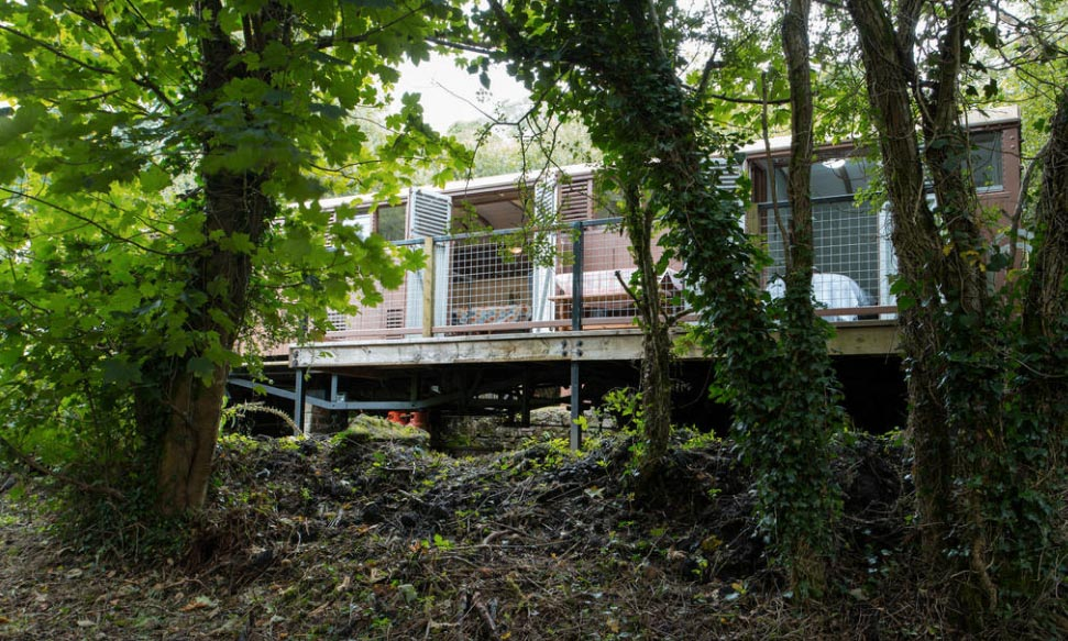 Stylish glamping at The Siphon in Cornwall