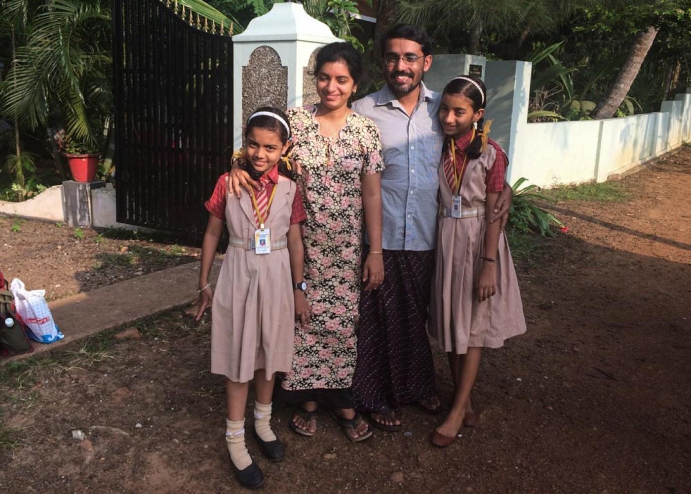 The best hospitality at Greenpalms Homestay in Kerala