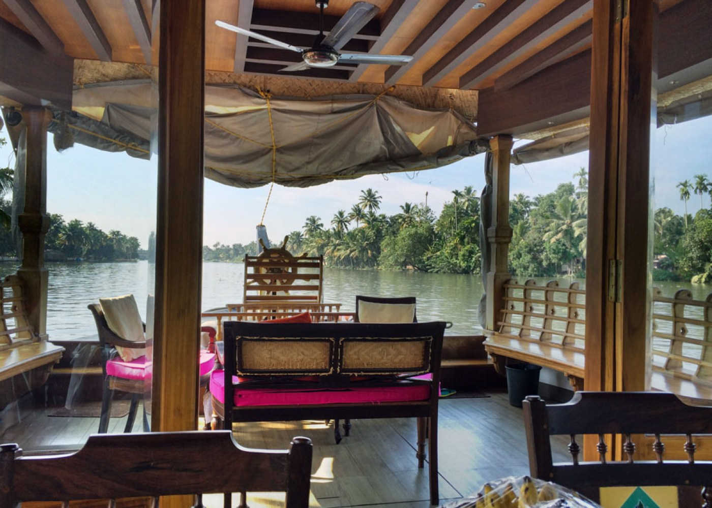 Attention to detail made this the best Kerala Houseboat