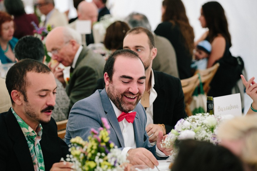 Guests at Cornish Tipi Weddings