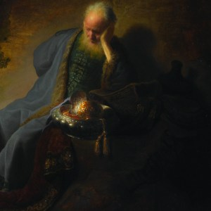 Jeremiah laments over the destruction of Jerusalem