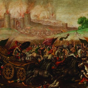 The Burning of Jerusalem by Nebuchadnezzar's Army
