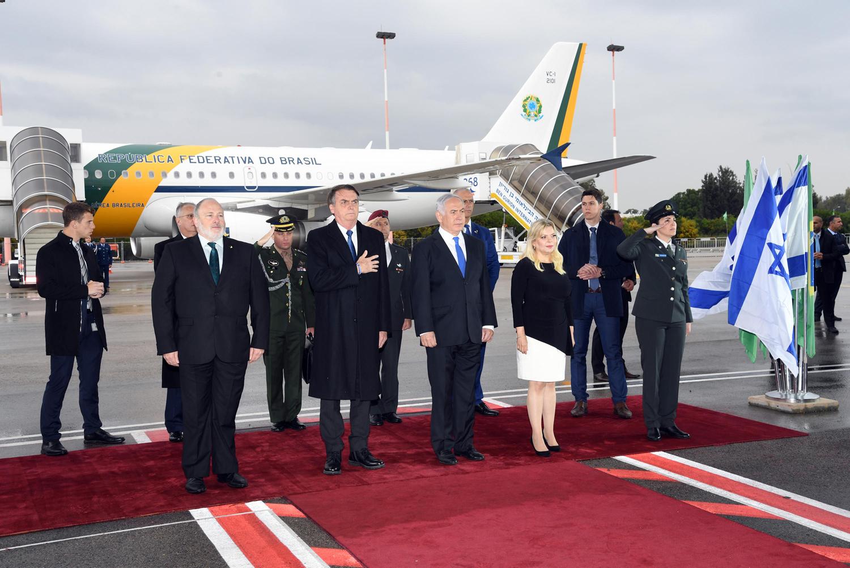 Netanyahu Hopes New Brazilian Trade Office in Jerusalem