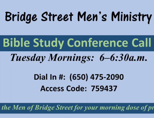 Men's Bible Study - July 2015