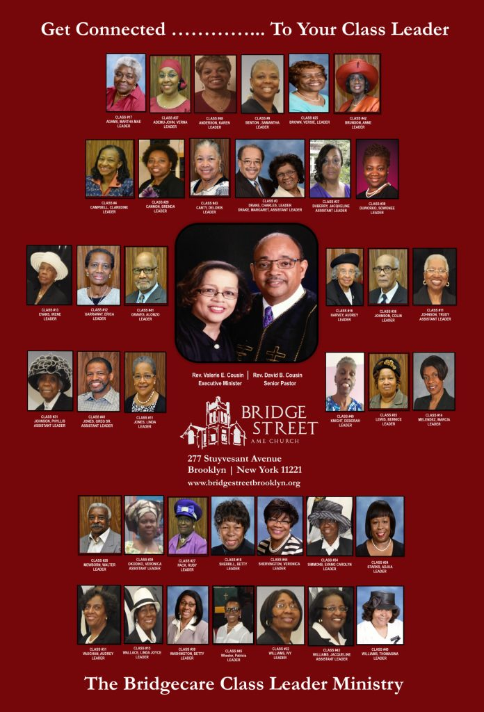 Class Leader Poster Collage - Burgundy Background - October 2021
