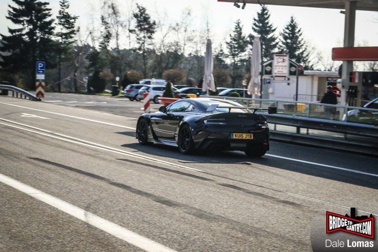 Aston Martin GT12 testing at the Nürburgring Nordschleife