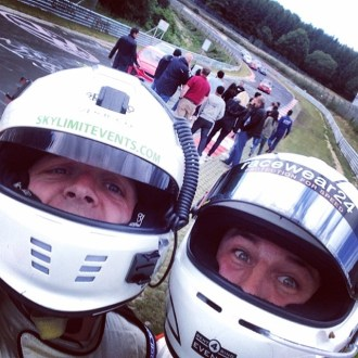 Professional coaching from grown-men who still take 'racing helmet' selfies