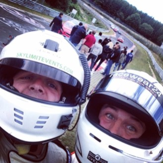 Professional coaching from grown-men who still take 'racing helmet' selfies